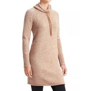 Athleta 'Traverse City' 100% Wool Sweater Dress M